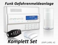 Funk-Alarm Komplett Set